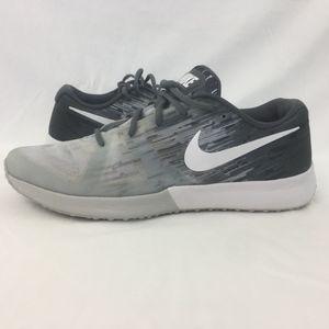Nike Mens Zoom Training Running Shoes Gray SZ 14